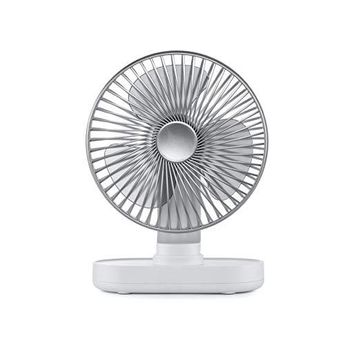 WZHZJ Pequeño Ventilador del Escritorio del USB Ventilador de Mesa portátil Ventilador de Escritorio oscilante impuesto: Ventilador Personal for PC Verano Viajes de Habitaciones
