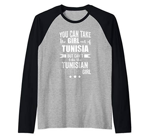 Kann das Mädchen aus Tunesien tunesischen Stolz nehmen Raglan