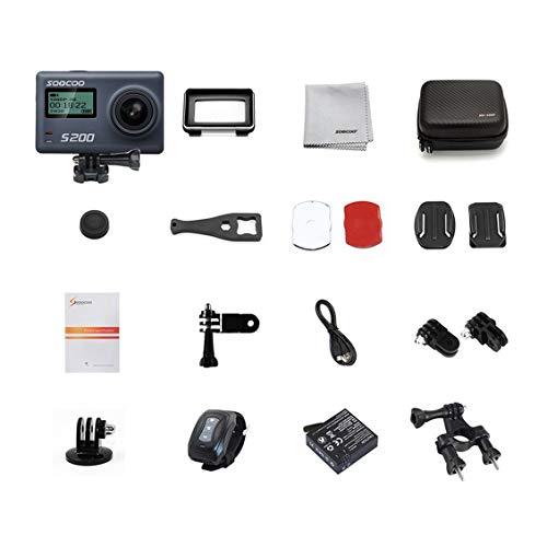 """Cámara de acción Crosstour 4K Wifi HD Ultra bajo el agua Sport Cam 98ft de 2/"""" LCD"""