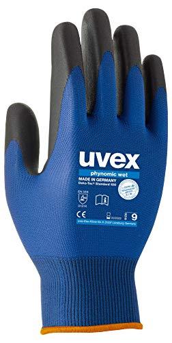 uvex phynomic Wet - Wasserabweisende Arbeitshandschuhe f. Herren und Damen - Gr 09