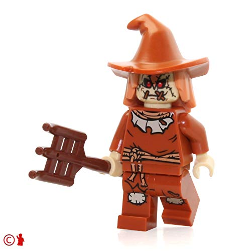 LEGO DC Super Heroes Scarecrow Minifigure Mini Fig 76054by