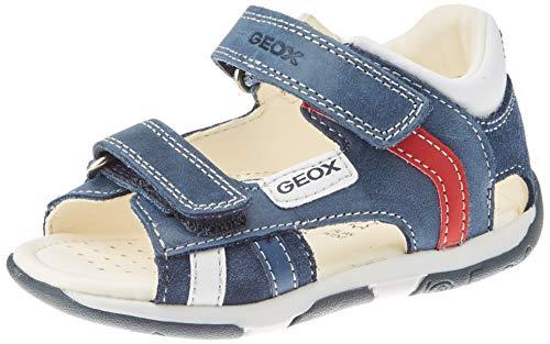 Geox Baby-Jungen B TAPUZ Boy A Sandalen, Blau (Navy C4002), 21 EU
