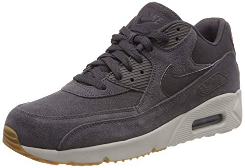 Nike Herren AIR MAX 90 Ultra 2.0 LTR Gymnastikschuhe, Grau (Thunder Grey/Thunder Grey/Lt Bone/Gum Med Brown/Black 004), 42 EU