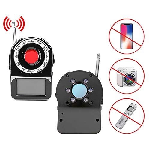 Best Buy! Anti Spy Detector, Camera Finder, RF Detector for Hidden Camera GSM Listening Device GPS Radar Radio Scanner Wireless Signal Device Finder