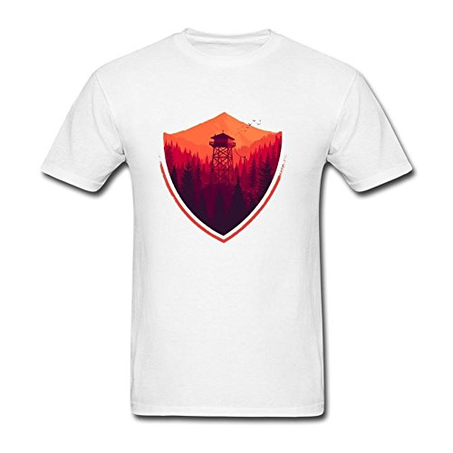 Bless Vanish Men's Firewatch Logo T Shirt S