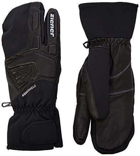 Ziener GLYXOM AS(R) LOBSTER glove narciarskie alpejskie rękawiczki, czarne, 10,5