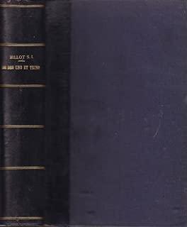De Uno Et Trino Commentarius in Primam Partem S.Thomae