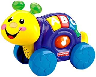 Fisher-Price Laugh & Learn Roll-Along Snail