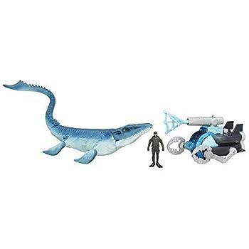 Jurassic World Mosasaurus vs Submarine Pack 2015 Movie Kids Toy New .HN#GG_634T6344 G134548TY37395