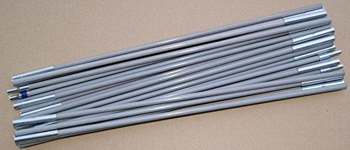 Zeltgestänge Flinduka 3 - silber, Größe INT:-