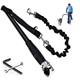 Fanwer Hands Free Dog Bicycle Exerciser Leash Hands Free Bicycle Dog Leash