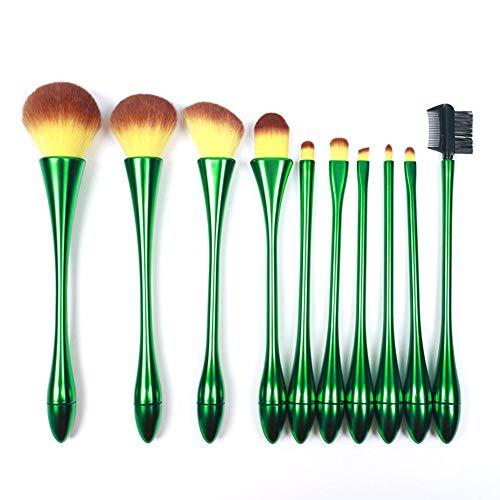 Ronege Lot de 10 pinceaux de maquillage réutilisables et innovants