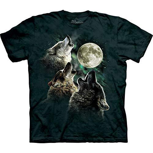 3 wolf moon T-shirt de loups - The Mountain