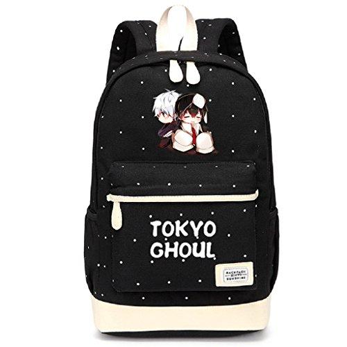 Siawasey - Mochila para portátil o Escuela, diseño de Anime japonés
