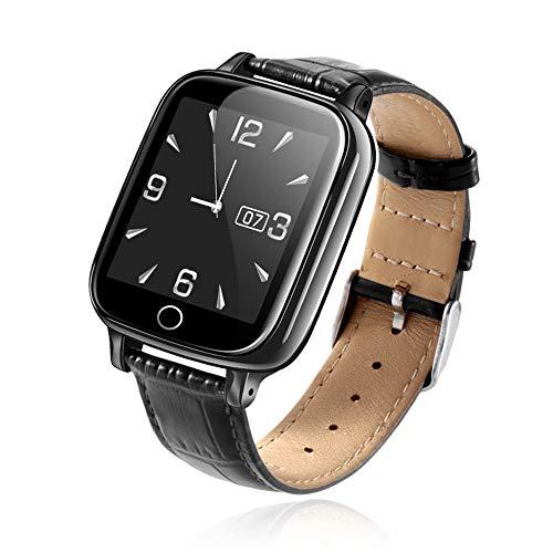 Neu Business Smart Watch1.44 Senior DS19 Smart Watch SOS Anruf Herzfrequenz Blutdruck Gesundheit Sport Armband Telefon Uhr,Schwarz