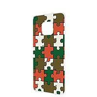 FFANY HUAWEI Mate 20 Pro (LAY-L09) 用 ハードケース スマホケース パズル柄・ベーシック おもしろ ゲーム パロディ ファーウェイ メイト トゥエンティープロ ワイモバイル SIMフリー スマホカバー 携帯ケース 携帯カバー puzzle_aao_h190732
