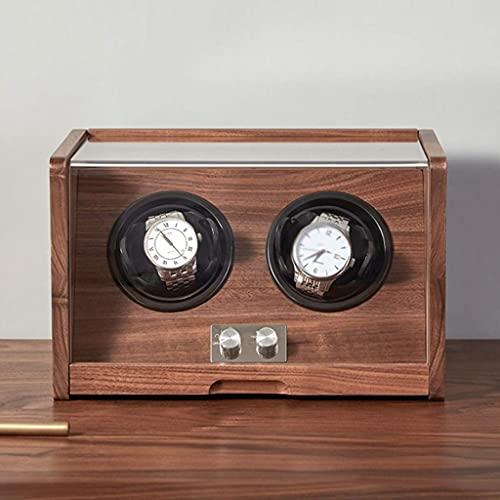W-HUAJIA Caja de Almacenamiento de Reloj de diseño automáticamente, coctelera mecánica para...
