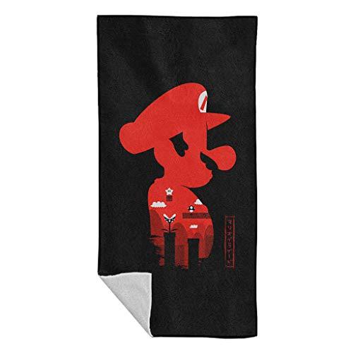 Cloud City 7 Super Mario Side Profile Japan Beach Towel