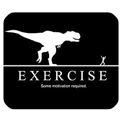 Exercise Motivation Mouse Pad