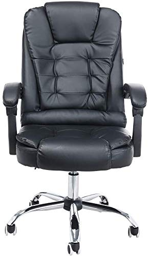Hancoc Computer Chair Advanced Ergonomic Executive Task Chair with Massage Function Swivel Office Chair Desk Chair Computer Chair Gaming Chair with Armrest Backrest Lumber Support for Conference Home