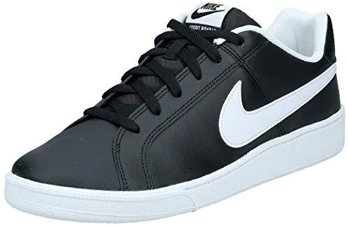 Nike Court Royale, Sneaker Hombre, Negro (Black/White 010), 45 EU