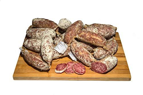 Italienisch Einheimische gewürzte Salamis aus Pizzoccheros Bauernhof aus Bergamo - Packung von ca. 1 Kg