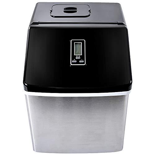 EIS-Hersteller Startseite Kleiner Eisautomat Große Kapazität 25Kg / 24H Eismaschine Gewerbe Milk Tea Shop HZB-20F / S 220V / 50Hz