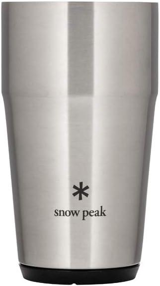 Snow Peak Shimo Tumbler Size Superior Silver 470 One Genuine Free Shipping
