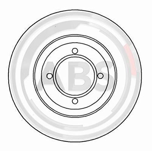 ABS 15531 Bremsscheiben - (Verpackung enthält 2 Bremsscheiben)