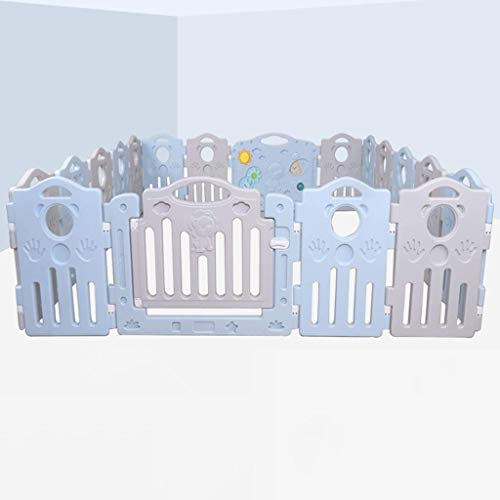 Find Discount Z-SEAT Indoor Baby Fence, Foldable Kids Activity Centre, Child Crawling Playpen with M...