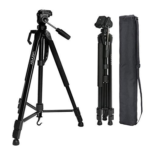 Uonner Kamera Stativ Tripod 172cm 67.7 Zoll Stativ Kamera Fotostativ Aluminum Reisestativ für DSLR SLR Canon Nikon Sony mit Tragetasche