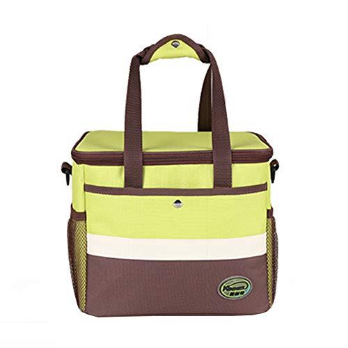 Outdoor hiking backpack Sac d'isolation en Aluminium imperméable à l'eau, Sac à Lunch en Plein air Sac à bandoulière Sac à Lunch bière Sac de Glace Froide Grande capacité 13L, adapté pour Barbecue