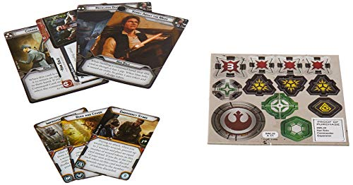 Star Wars FFGSWL20 Legion Han Solo Commander Expansión, Multicolor