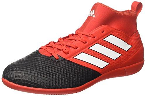 adidas Herren Ace 17.3 Primemesh in Fußballschuhe, Rot (Red/ftwwht/cblack), 42 EU