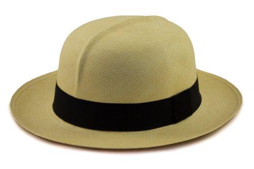 Chapeau Panama Colonial à Rouler, Roulable/Pliable. Confortable et idéal pour Le Soleil d'été.