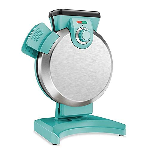 Waffle Makers Irons Multi-function Breakfast Machine,Sandwich Panini Toaster Household Cake Maker,Easy Clean,Non-Stick Plates&Cool Touch Handles,800W (Color : Green)