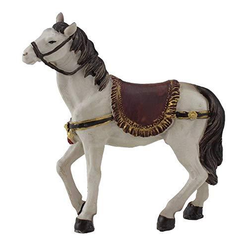 Pferd pour crèche, hauteur : env. 12 cm