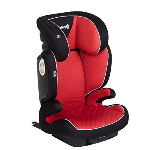 Safety 1st Siège Auto pour Enfant Road Fix, Groupe 2/3, ISOFIX, Ajustable en Hauteur, de 3 à 12 Ans (15- 36 kg), Pixel Red