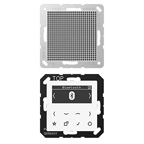 Smart-Radio DAB+ mit Bluetooth, Lautsprecher-Set Mono S AS/A, alpinweiß