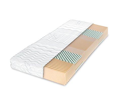 Dunlopillo Colchón–Multi Care, 7Zonas Colchón de Espuma fría, 180x 200cm, Altura: 16cm