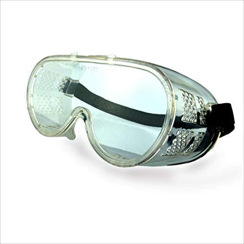 Arbeitsschutzbrille Vollschutzbrille Profi Vollsichtbrille DIN EN 166 Schutzbrille Schleifbrille Korbbrille