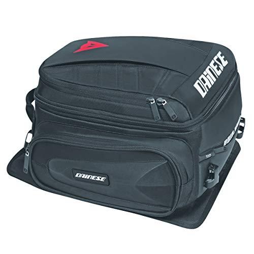 Dainese-D-TAIL MOTORCYCLE BAG, Stealth-Schwarz, Größe N
