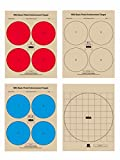 The NRA Pistol Qualification Targets, 100 Target Pack, 25 of Each Target Design