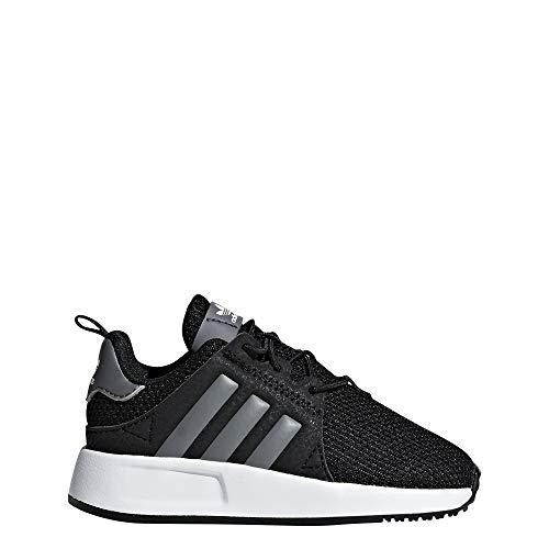 adidas X_PLR El I, Pantofole Unisex-Bimbi, Nero (Negbás/Gricua/Ftwbla 000), 19 EU