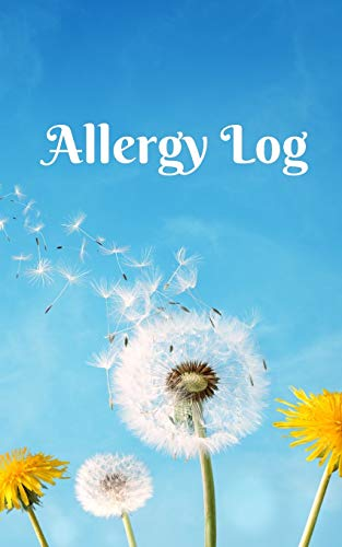 Allergy, symptom and intolerance tracker journal for children and parents. List all allergies and or