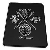 マウスパッドGame Of Thrones ゲーム・オブ・スローンズ 滑り止め ゲーミング 耐摩耗性 高耐久性 疲労低減 水洗い ファッション オフィス/ゲーム/パソコンなどに適用 (4サイズを選択可能)