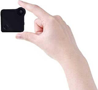 Mopoq Hidden Spy Camera WiFi Mini Spy HD Camera 720P Wireless Home Security Camera Nanny Cam Waterproof Home/Office Survei...
