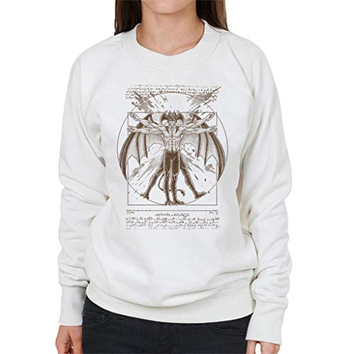 Cloud City 7 Vitruvian Devil Devilman Crybaby Women's Sweatshirt