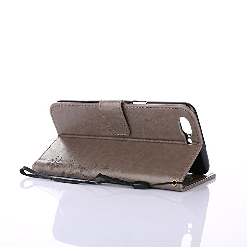 SMTR Wallet Cover per Asus Zenfone 4 Max ZC520KL