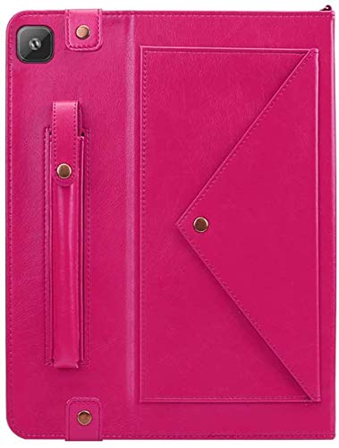Miya for Samsung Galaxy Tab S6 Lite Case 2020, Full-Body Protection Lightweight Smart Multipurpose Book Cover Stand Shell Fit Galaxy Tab S6 Lite 10.4 Inch (Hot Pink)